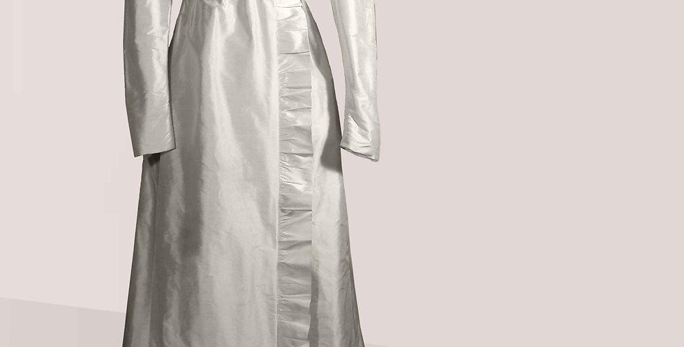 RAFFINEE, robe entièrement en soie, parfait pour l'après-midi,les soirées
