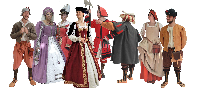 Un large choix de costume renaissanc