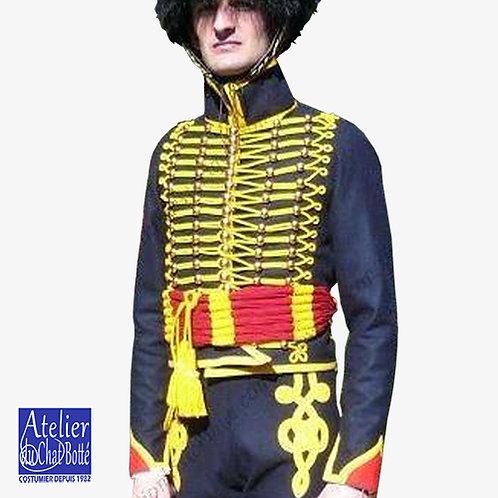 Dolman de Hussard, troupe