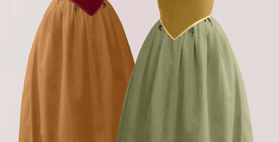 Basquine avec jupe Basal