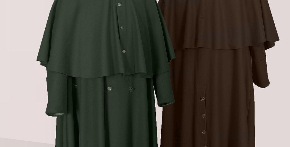 Manteau à rotonde Issus de la mode militaire,  pour être bien au chaud