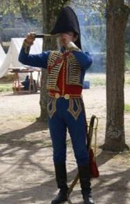 Officier des Régiments de Hussards
