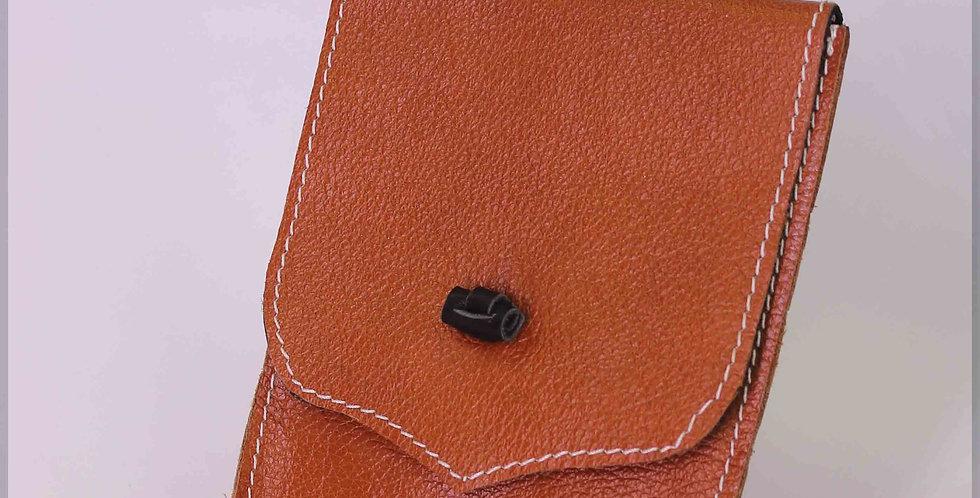 Pochette téléphone en cuir véritable (13*18cm)