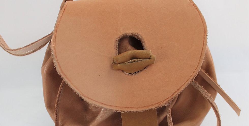 """Escarcelle en cuir Modèle """"Yeuse"""", 16/14 cm"""