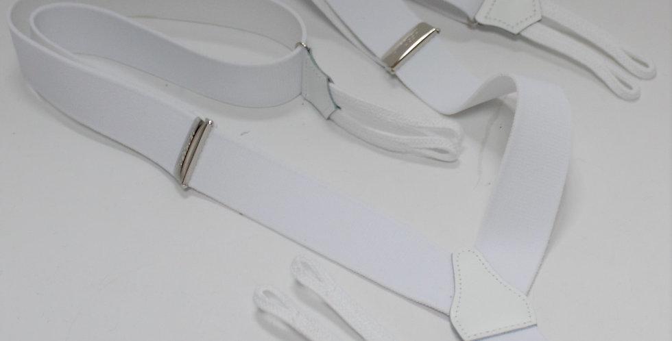 Bretelles blanches