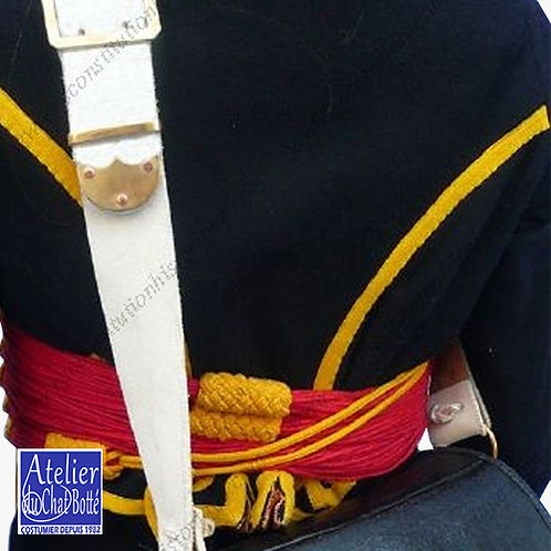 Banderole de giberne, Régiments de cavalerie légère de la ligne
