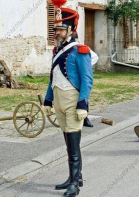 Train d'Artillerie, troupe