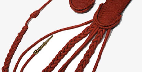 Épaulette et contre-épaulette de Grenadier à Cheval de la Garde Impériale, trou