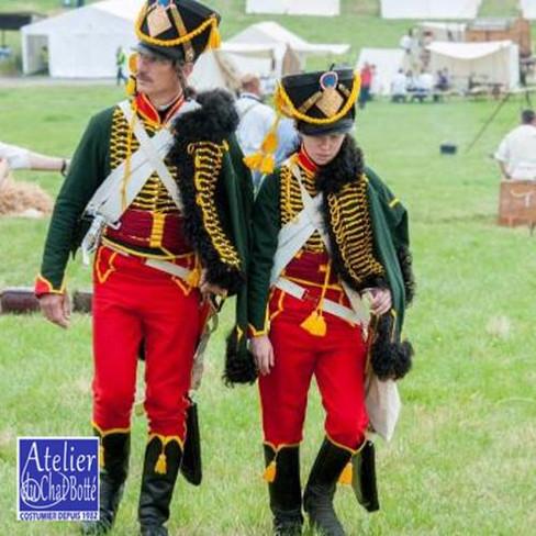 Hussard, troupe