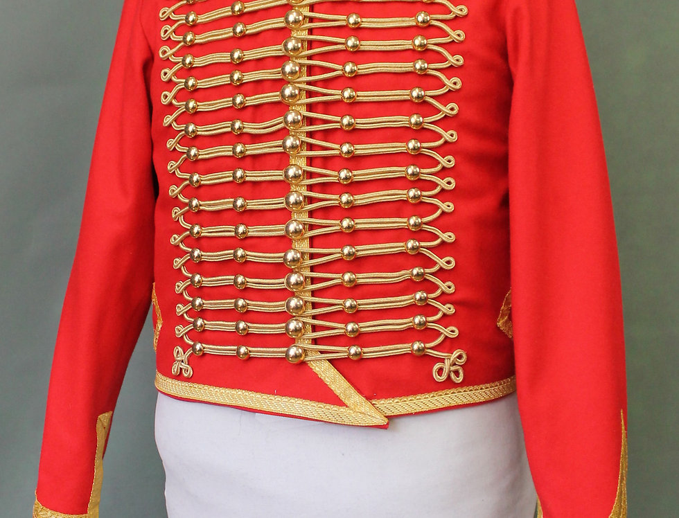 Dolman de Hussard, Officier
