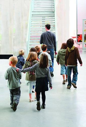 Les visiteurs peuvent découvrir, s'approprier, toucher, ...