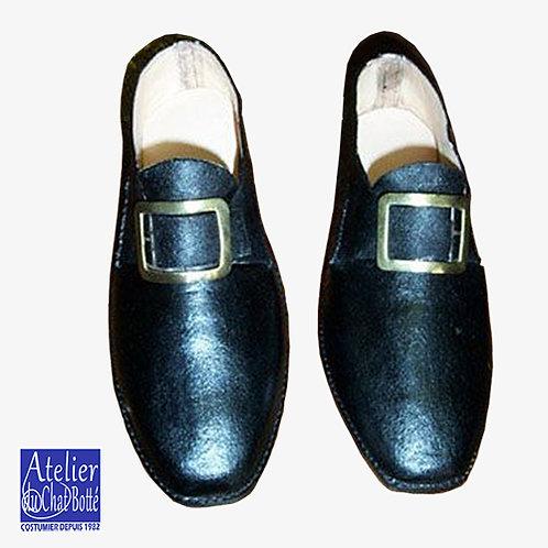 Chaussures à boucles d'Officier en tenue de sortie