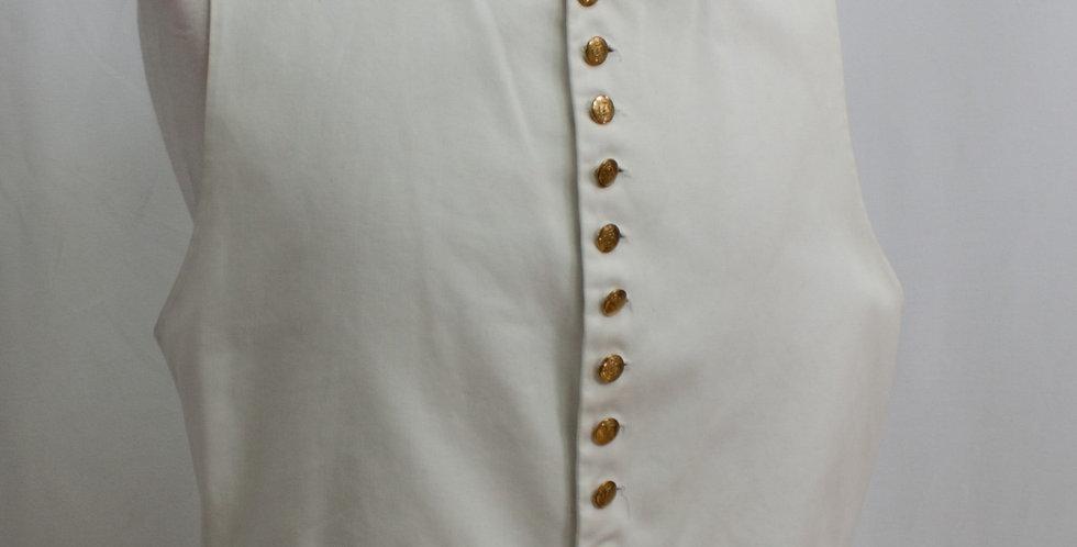 Gilet coton, boutons AIGLE