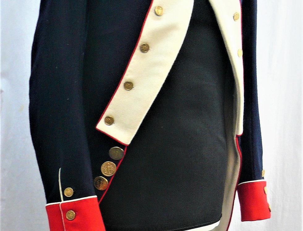 Habit d'Infanterie, Révolution/Consulat