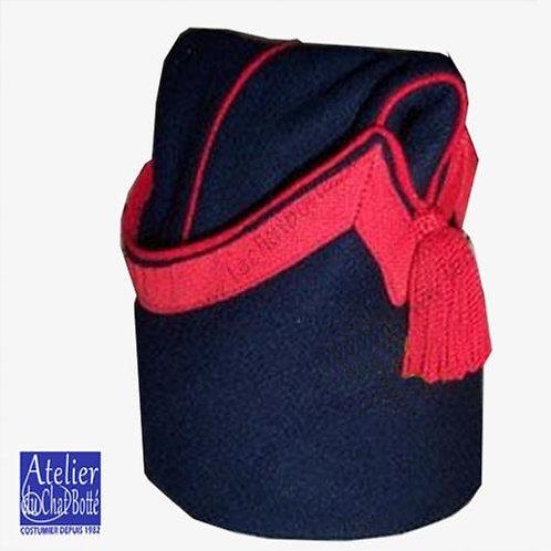 Bonnet de police Infanterie, troupe