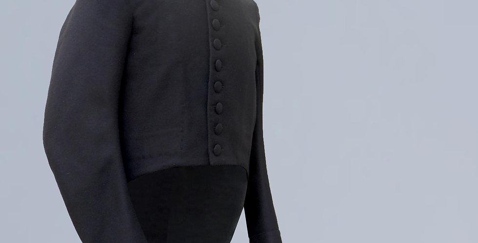 Surtout Demi-solde, en drap de laine, boutons métal selon le régiment
