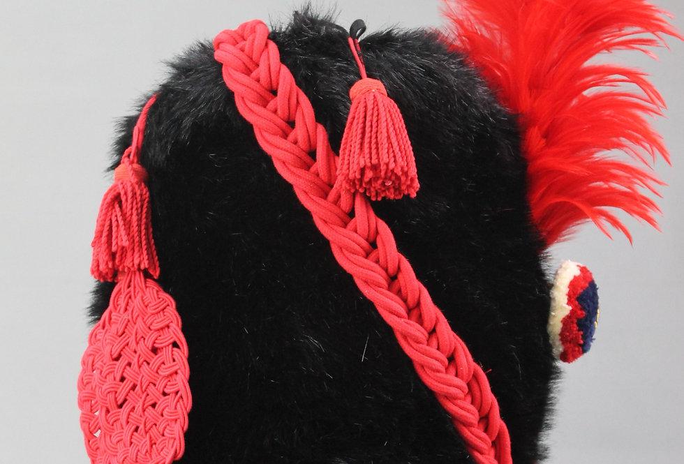 Bonnet d'Oursin troupe fourrure synthétique d'Atillerie