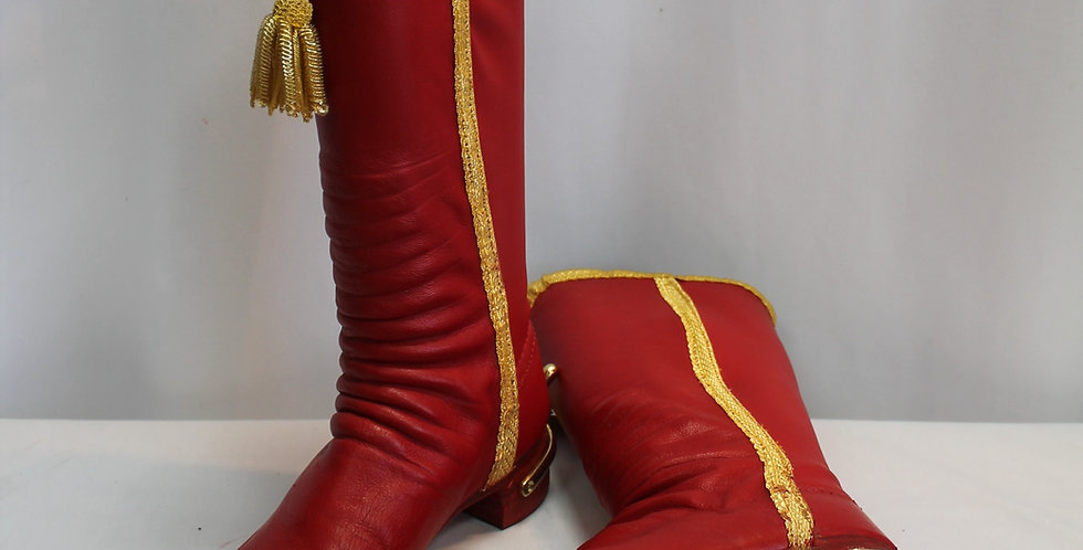 Bottes d'Officiers des régiments de cavalerie légère