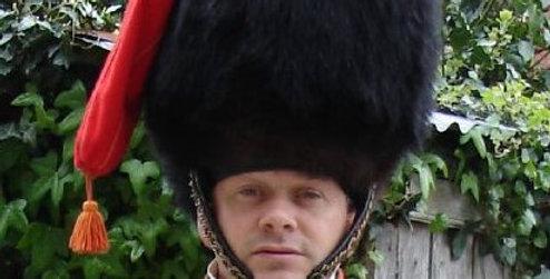 Colback en ours noir, Chasseur à Cheval de la Garde Impériale
