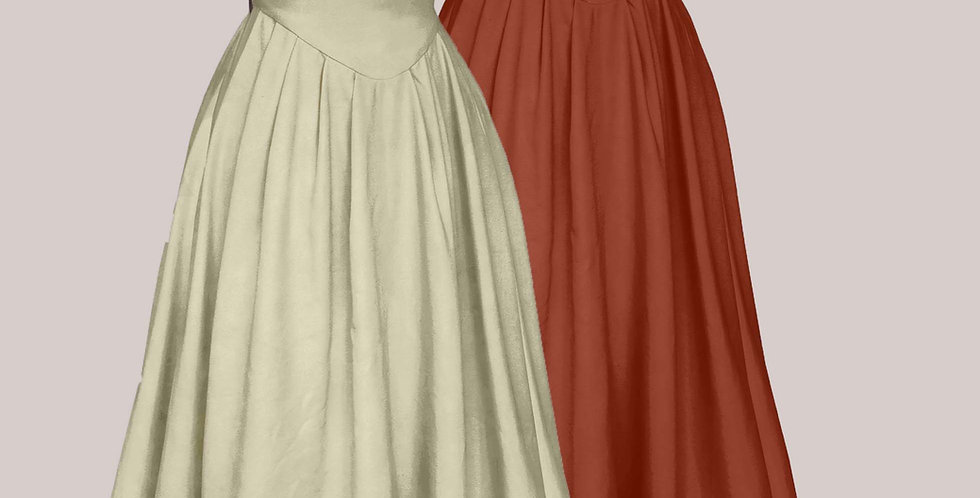 Robe TRALALA, une robe galonnée dans les plus belles matières unis