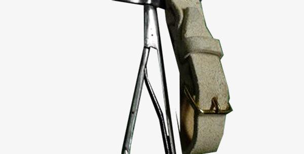 Tinned iron carabiner hook