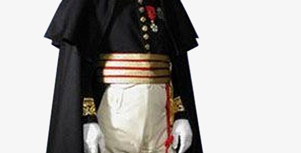 Manteau, Officier Généraux