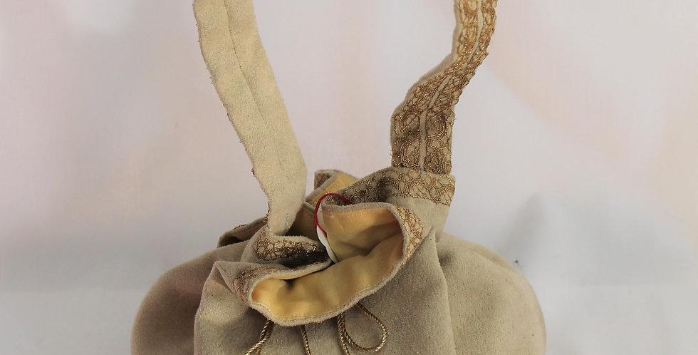 Réticule en tissus (15/18 cm)
