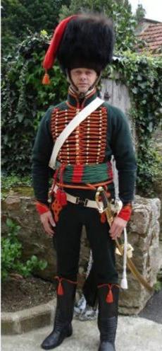 Chasseur à Cheval de la Garde Impériale, Troupe