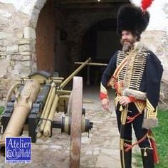 Officier d'Artillerie à Cheval