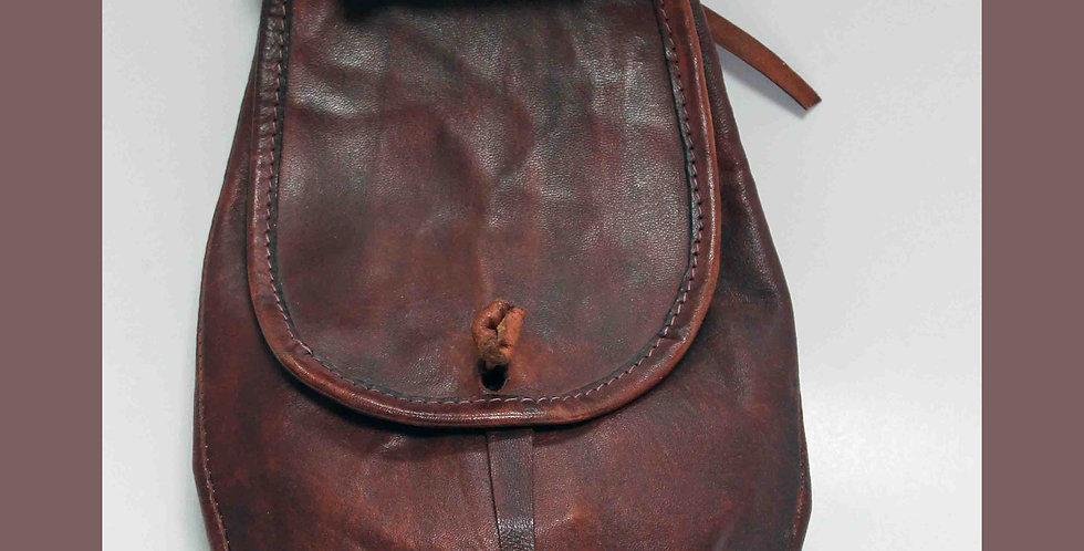 Escarcelle Aubergine, H 33 cm