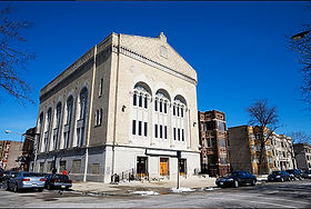 Stone Temple Baptist Church - originally a synagogue
