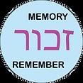 Zachor - The Holocaust Memory Project Logo - Memory - Remember