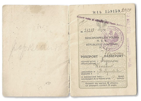 Seymour Vinokur Passport