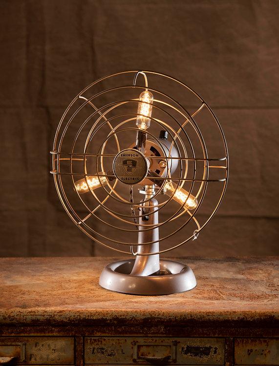 Emerson table fan lamp
