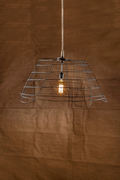 Laundry basket hanging pendant