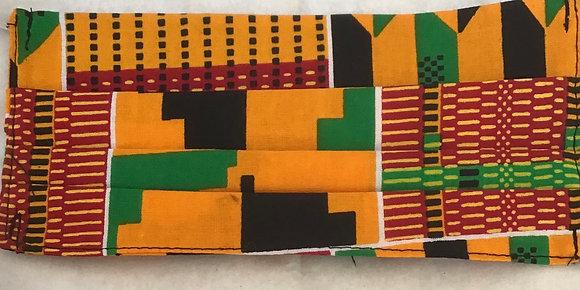 Kente African Print Face Mask