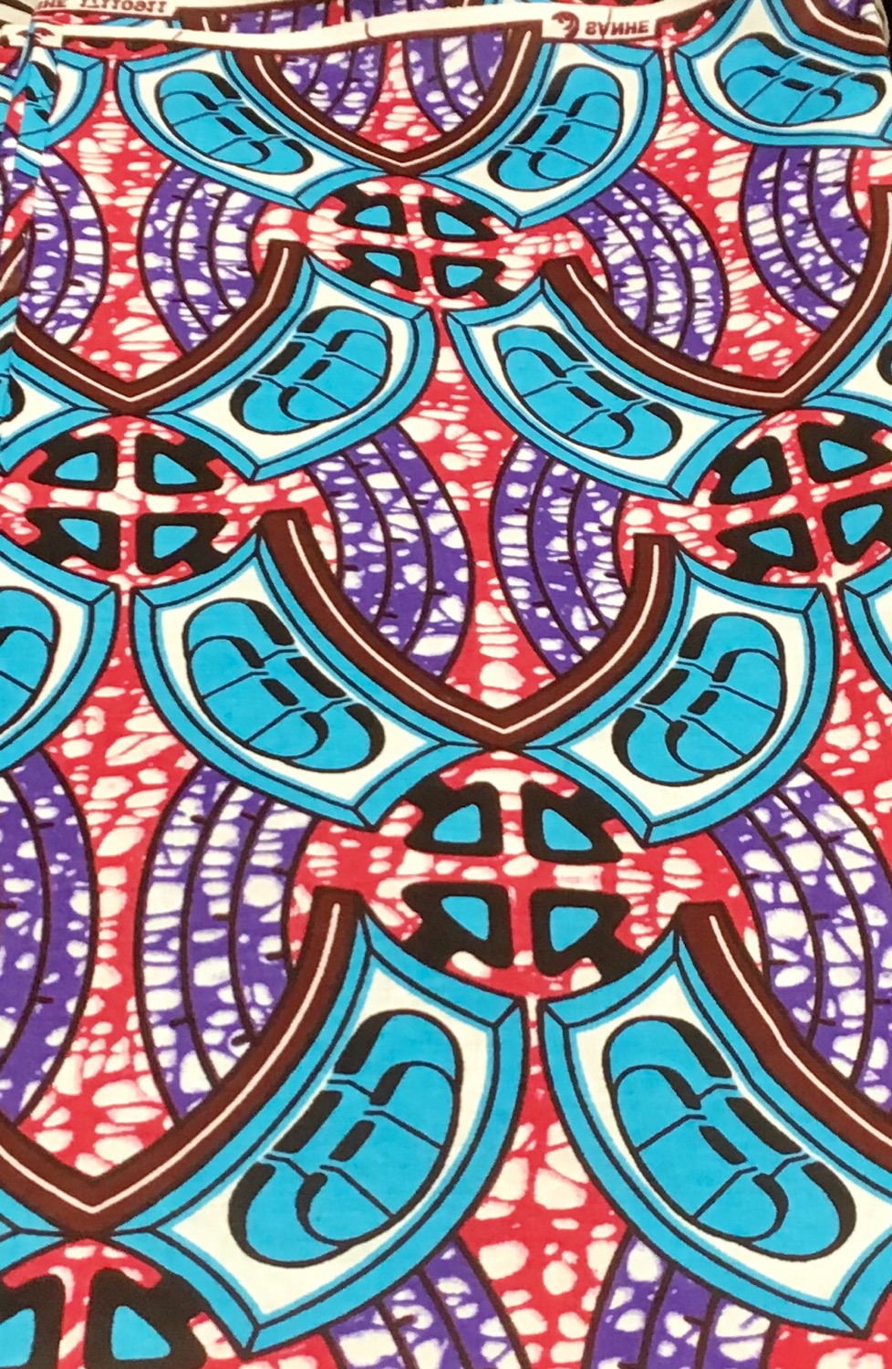 African Print Fabric, sold by yard