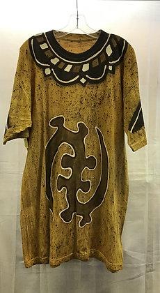 Mud Cloth Fabric Shirt
