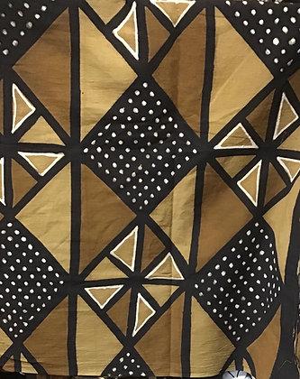 African Mud Cloth PRINT Fabric - #25