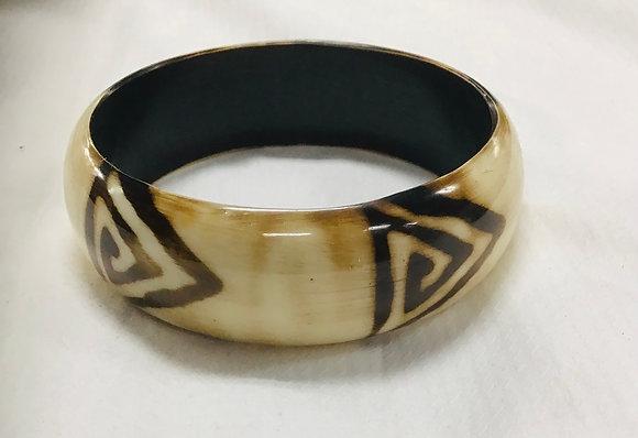 Beige Wood Bracelet