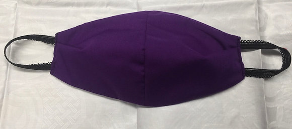 Purple Cotton Mask