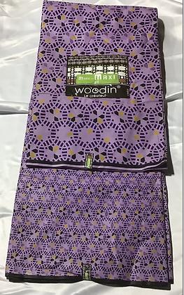 Woodin Fabric, purple