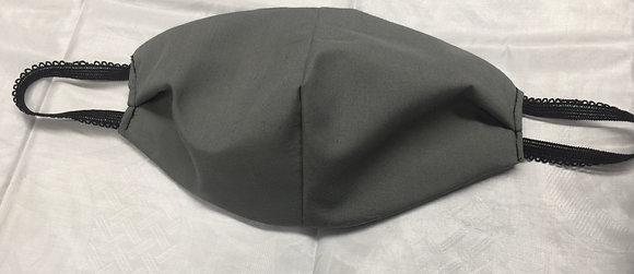 Grey Cotton Mask