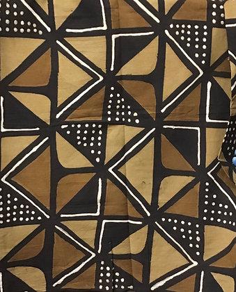 African Mud Cloth PRINT Fabric - #26