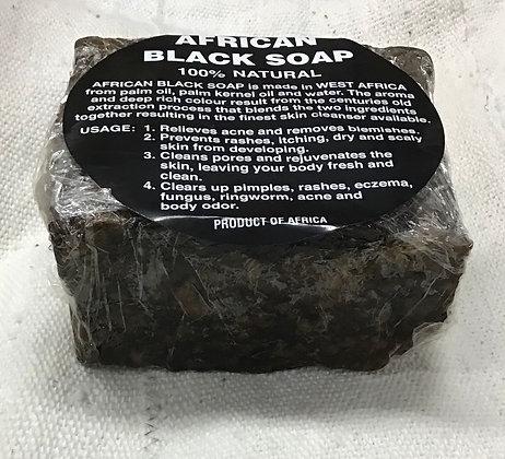 Natural Black Soap