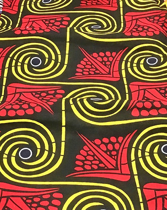 African Print Fabric , sold by the yard