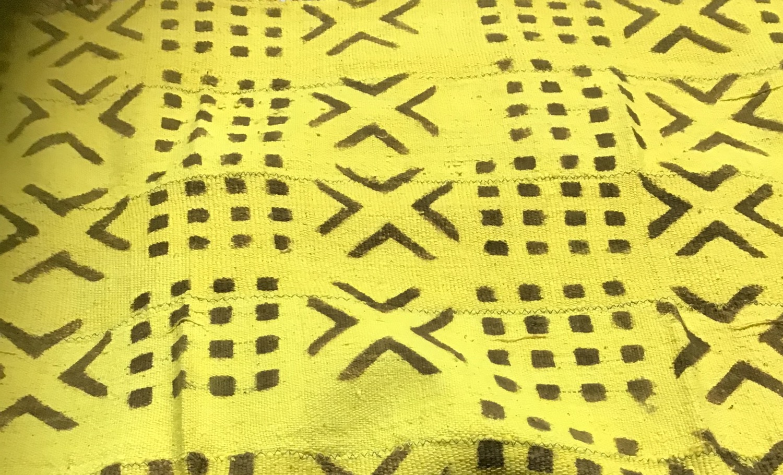 Yellow Mud Cloth