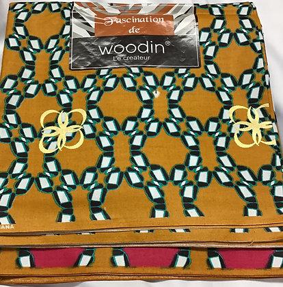 Woodin African Print Fabric