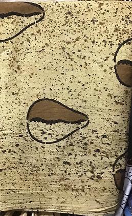 African Mud Cloth PRINT Fabric - #28