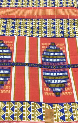 African Print Fabric  -  5015904569